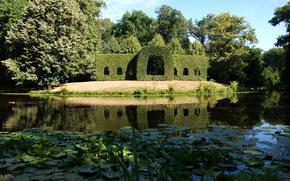 湖, 德国, 不伦瑞克, Bürgerpark公园