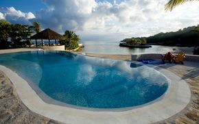 pool, jamaica, recreation area
