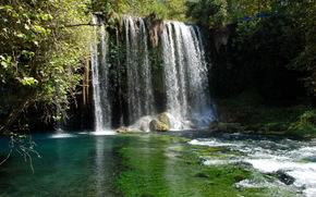 Turqua, Antalya, Kursunlu parque, vodapad