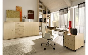 interior, style, design, room, office, study, office