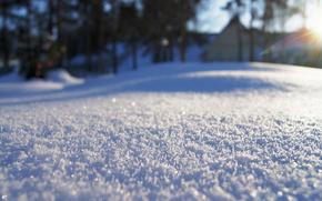 Snowflakes, snowflake, snow
