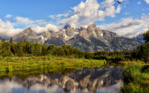 Parque Nacional Grand Teton, Montaas, ro, paisaje