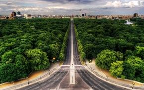 highway, road, asphalt