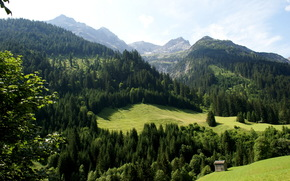 Austria, Tyrol, Hinterhornbah