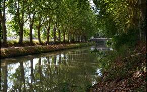 Франция, Безье, canal du midi