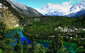 Autriche, Tyrol, Biberwier, Montagnes
