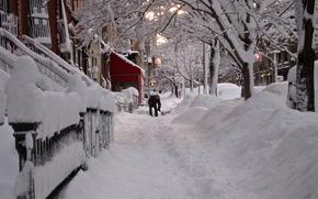 zima, Nowy Jork, 2013, nieg, pikno