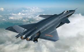 китайский, истребитель, самолет, авиация, ВВС