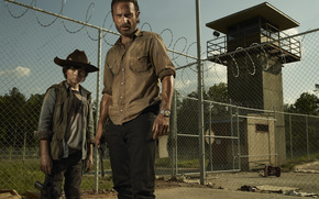 The Walking Dead, Andrew Lincoln, Chandler Riggs