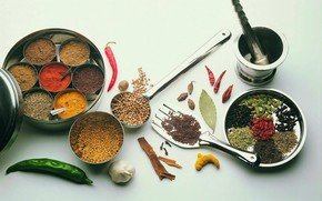 spices, seasoning, pepper