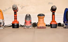 construction, Tools, Screwdriver