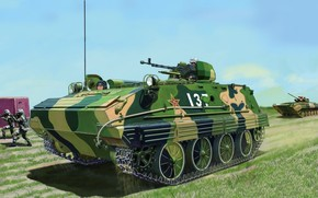picture, armored troop-carrier, APC, PLA, China