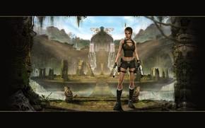 Raider, Tomb, Lara, Croft, underground, world, legend