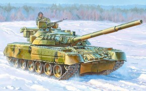 picture, Zhirnov, MBT, main battle tank, UD, Russia