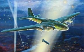 picture, Zhirnov, Soviet, heavy bomber, Soviet Air Force