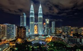 Kuala Lumpur, Malaysia, kuala lumpur, malaysia, Gothel, night, art-slice photography