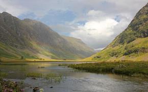 природа, Шотландия, Великобритания, нагорье, горы, река, river coe, радуга, paul beentjes photography