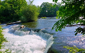 Водопад, США, Онтарио, Ниагара