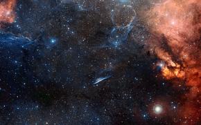 nebula, pencil, Star, constellation Vela