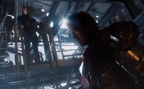 The Avengers, Marvel, man of iron, Tony Stark, Robert Downey Jr., armor, Captain America, Steve Rogers, Chris Evans, super soldier, ship