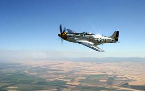 Авиация, истребитель, самолет, небо