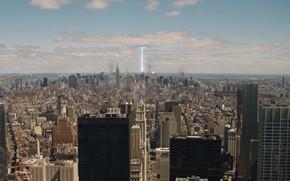 Avengers, Meraviglia, New York, citt, Grattacieli, portale, Invasione