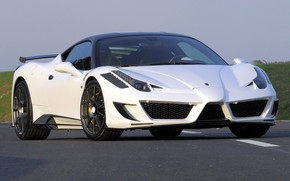 Ferrari, Italy, Tuning, Syracuse, front, road, asphalt, Ferrari