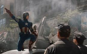 Мстители, Марвел, супергерои, команда, организация, Щ.И.Т, Капитан Америка, Стив Роджерс, Крис Эванс, супер солдат, щит, костюм, указания