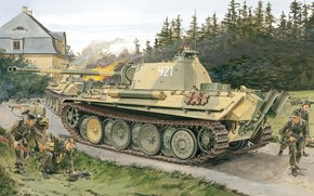 picture, German, Medium-heavy tank