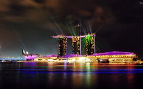 Singapore, singapore, night city