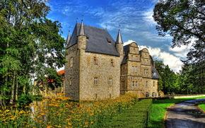 Германия, schelenburg, замок