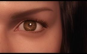 Final Fantasy, La fuerza interior, nia, ver, ojo, Representacin