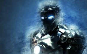 man of iron, suit, armor