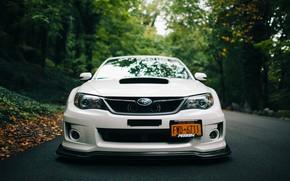 тюнинг, субару, передок, Subaru