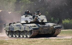 tanque, Britnico, tanque de batalla principal, Desafiador