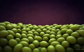 render, Berries, Balls