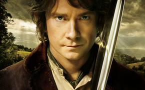 Lo Hobbit un viaggio inaspettato, Il Signore degli Anelli, spada, Martin Freeman