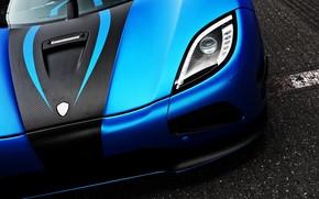 Supercar, blue, headlamp, supercars