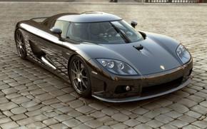 Supercar, prima, vetro, Koenigsegg, supercar