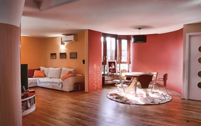 интерьер, стиль, дизайн, дом, вилла, жилая комната