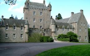 Castles, Fortress, Scotland, cawdor castle