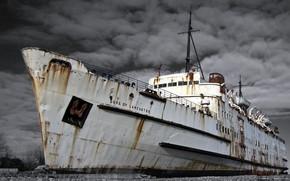 ship, wharf, city