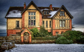 england, Old Mansion, window