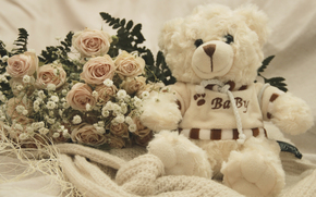teddy-bear, Teddy, peluche, romance