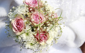 bouquet, Bride, wedding