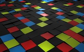 Квадрат, плитка, мозаика