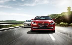 BMW, rosso, velocit, BMW