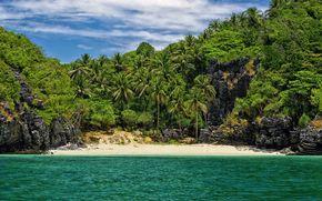 palma, spiaggia, In un luogo sicuro