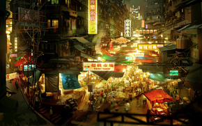 sleeping dogs, video game, hong kong, видео игры