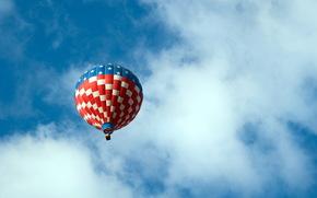 balloon, sky, Sport